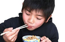 食べた感じの子供